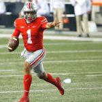 Justin Fields Ohio State Buckeyes Football Quarterback