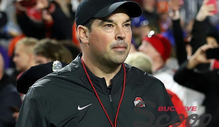Ohio State Buckeyes Head Coach Ryan Day