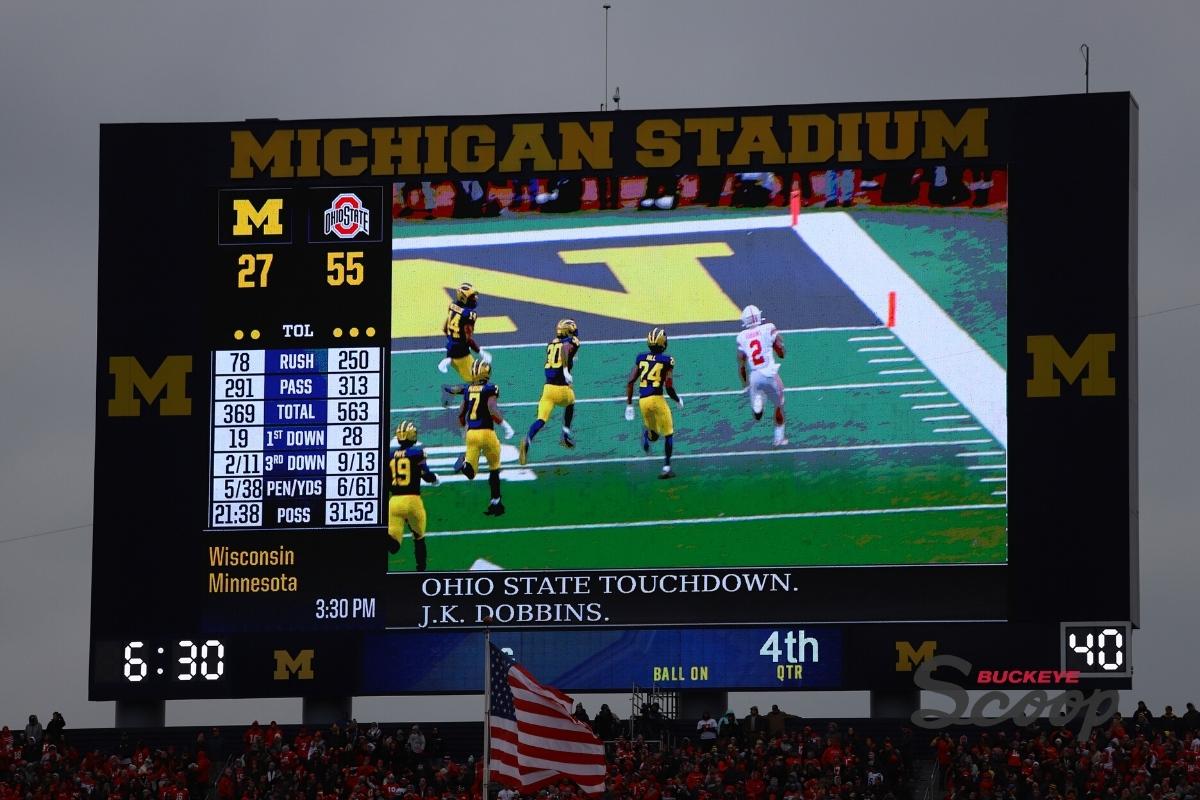 Ohio State Buckeyes vs Michigan Wolverines