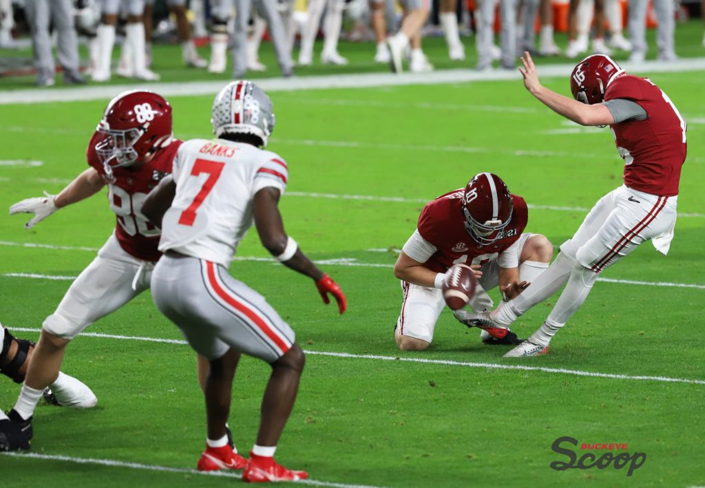 2021 National Championship Game Alabama special teams