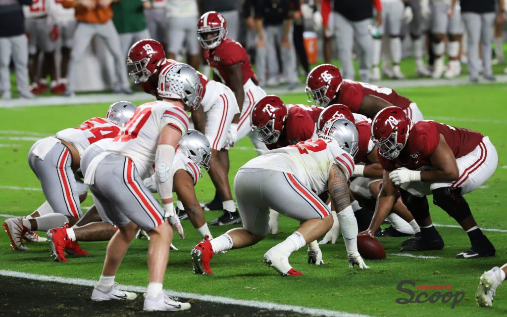 2021 National Championship Game Ohio State vs. Alabama