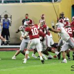 2021 National Championship Game Alabama passing Mac Jones