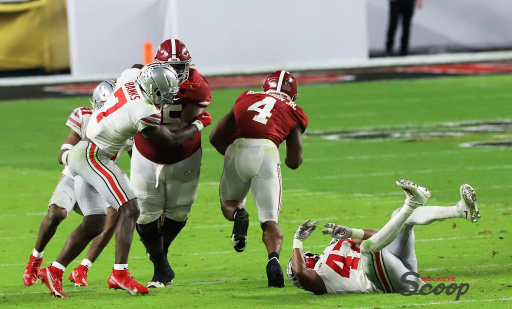 2021 National Championship Game Alabama running game