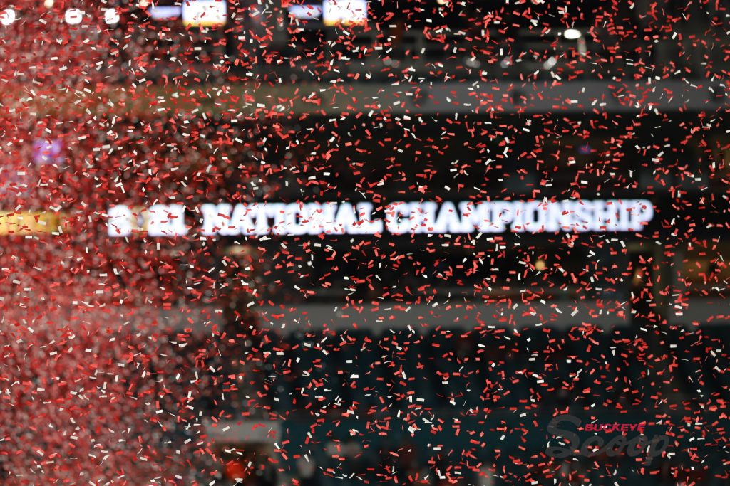 2021 National Championship Celebration