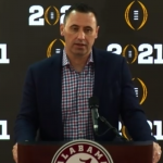 Steve Sarkisian Alabama