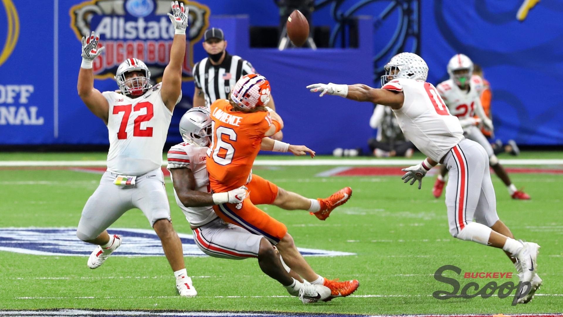 Ohio State Buckeyes Tommy Togiai Jonathon Cooper