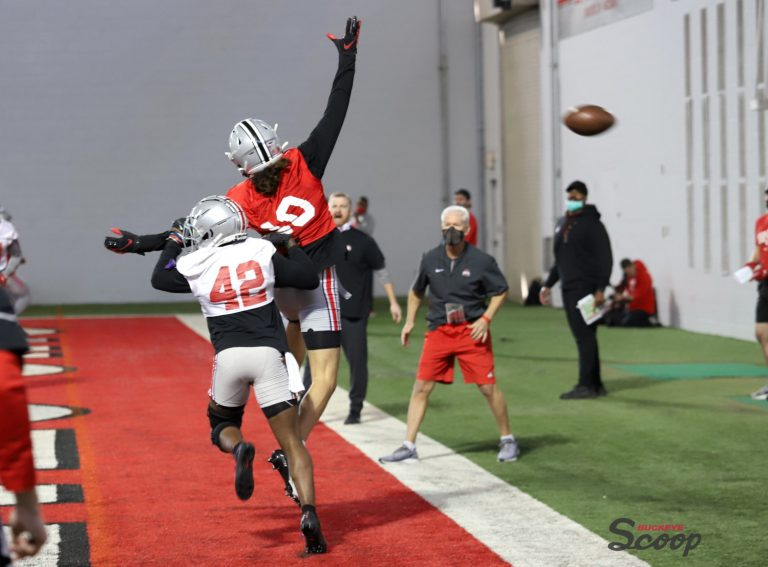 Ohio State football Jayden Ballard Lloyd McFarquhar Buckeyes
