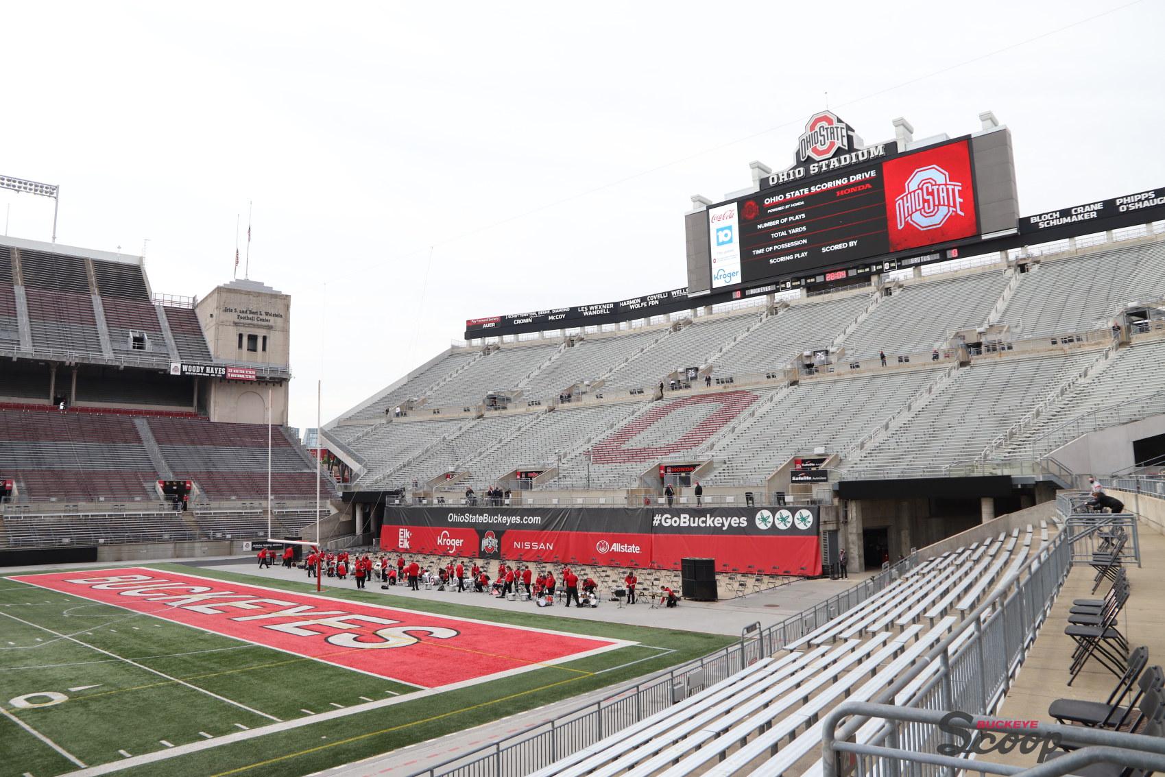 Ohio Stadium Ohio State Spring Game