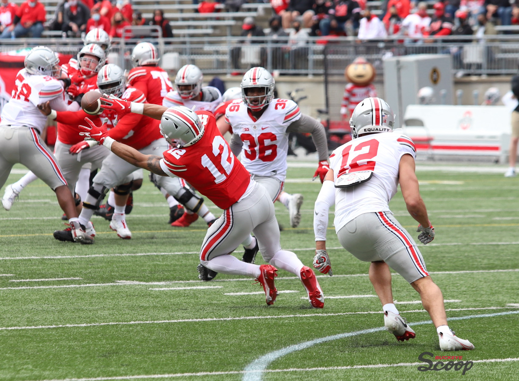 Ohio State wide receiver Emeka Egbuka