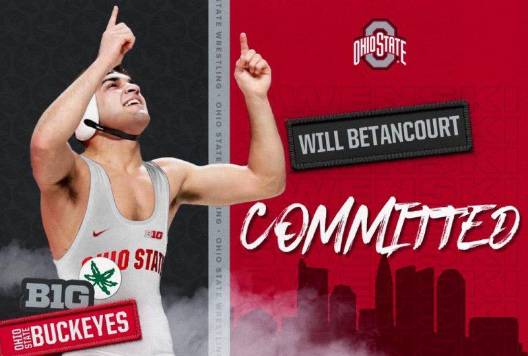 Ohio State wrestling Will Betancourt