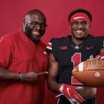 Dallan Hayden and Tony Alford Ohio State Buckeyes