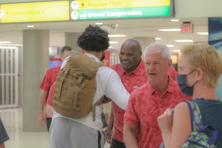 JT Tuimoloau official visit to Ohio State