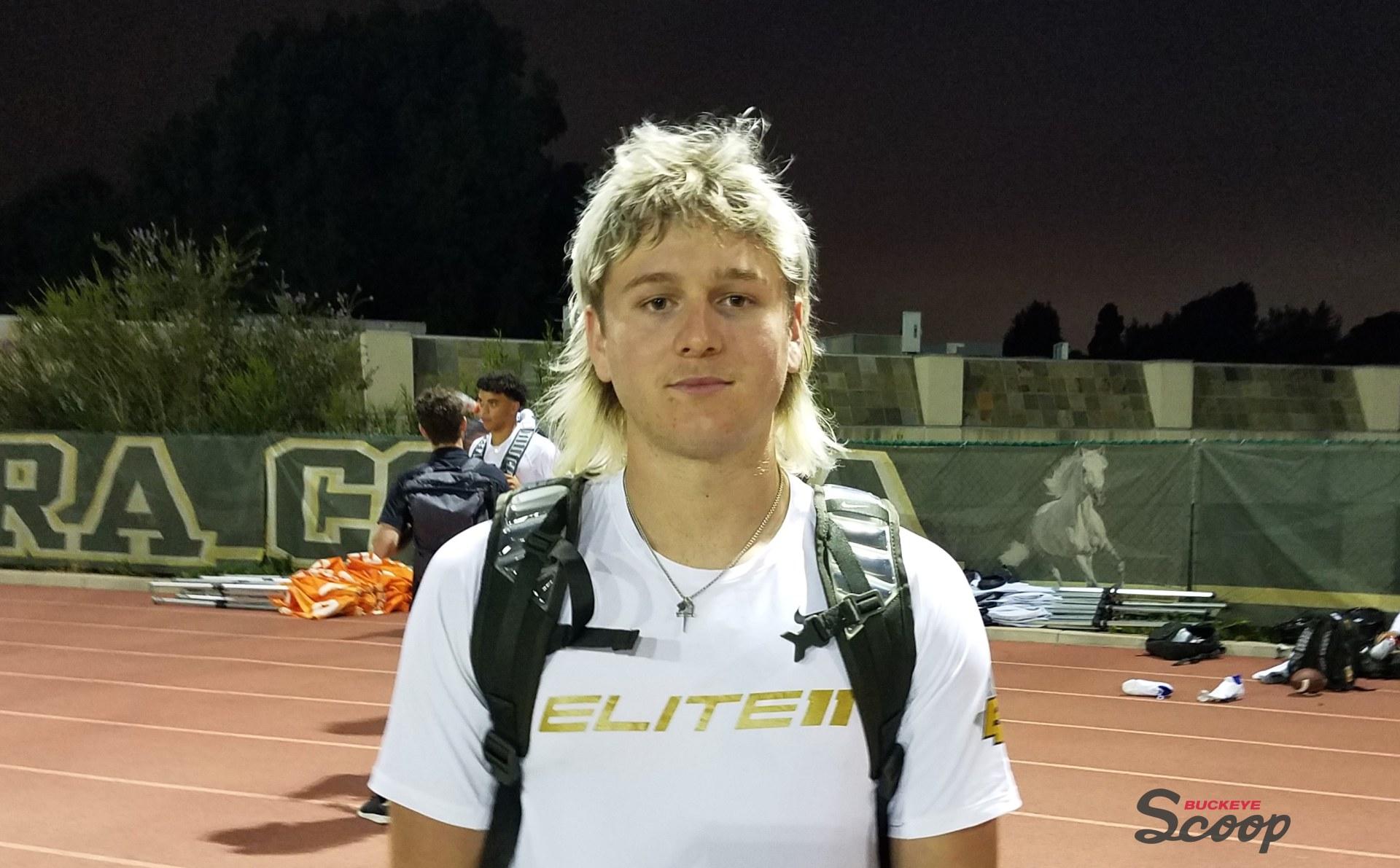 Quinn Ewers Ohio State Buckeyes Football Quarterback