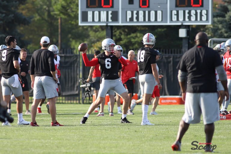 Ohio State Buckeyes football quarterback Kyle McCord