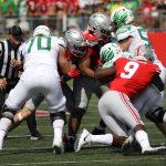 Ohio State football defensive end Zach Harrison