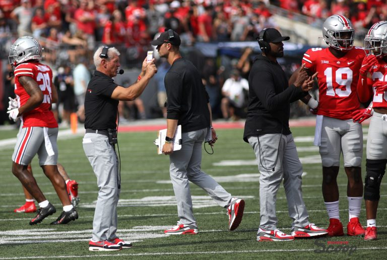 Ohio State football defensive coordinator Kerry Coombs