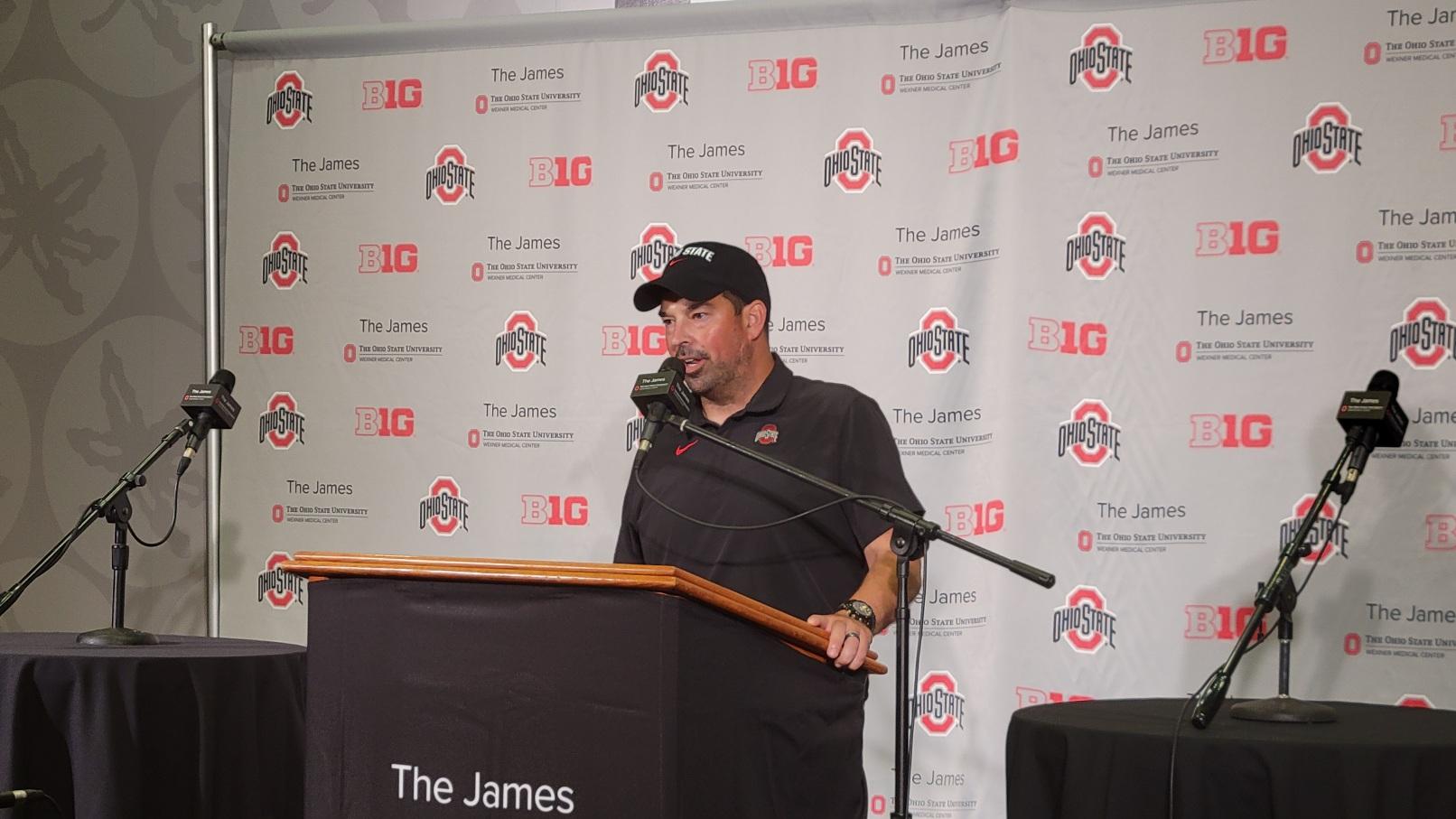 Ryan Day Ohio State Buckeyes