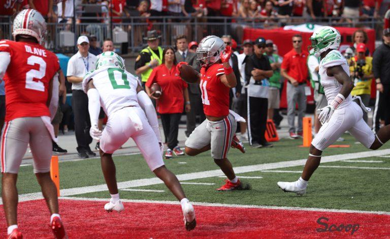 Ohio State Buckeyes football wide receiver Jaxon Smith-Njigba