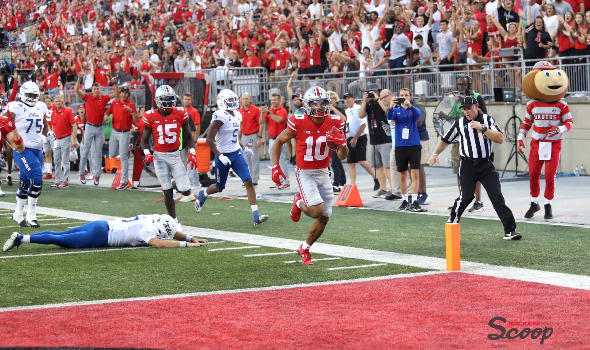 Ohio State Buckeyes football Cam Martinez Touchdown
