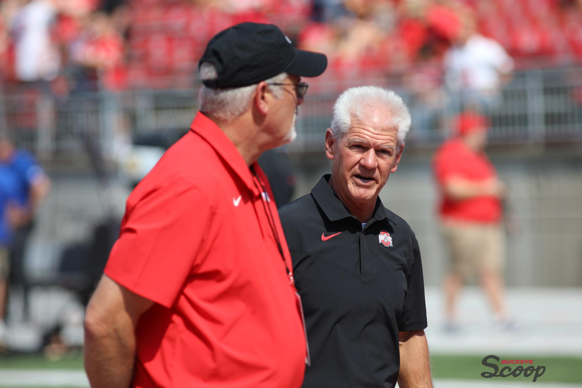 Ohio State defensive coordinator Kerry Coombs
