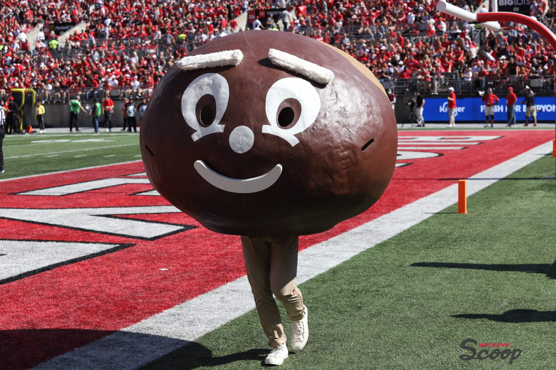 Ohio State Buckeyes Mascot Brutus