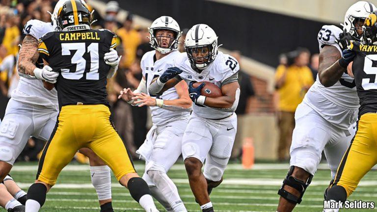 Penn State Running Back Noah Cain