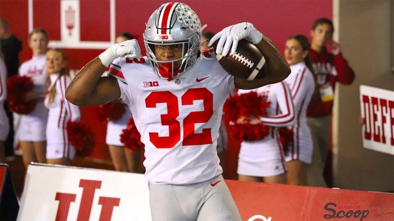 Ohio State Running Back TreVeyon Henderson